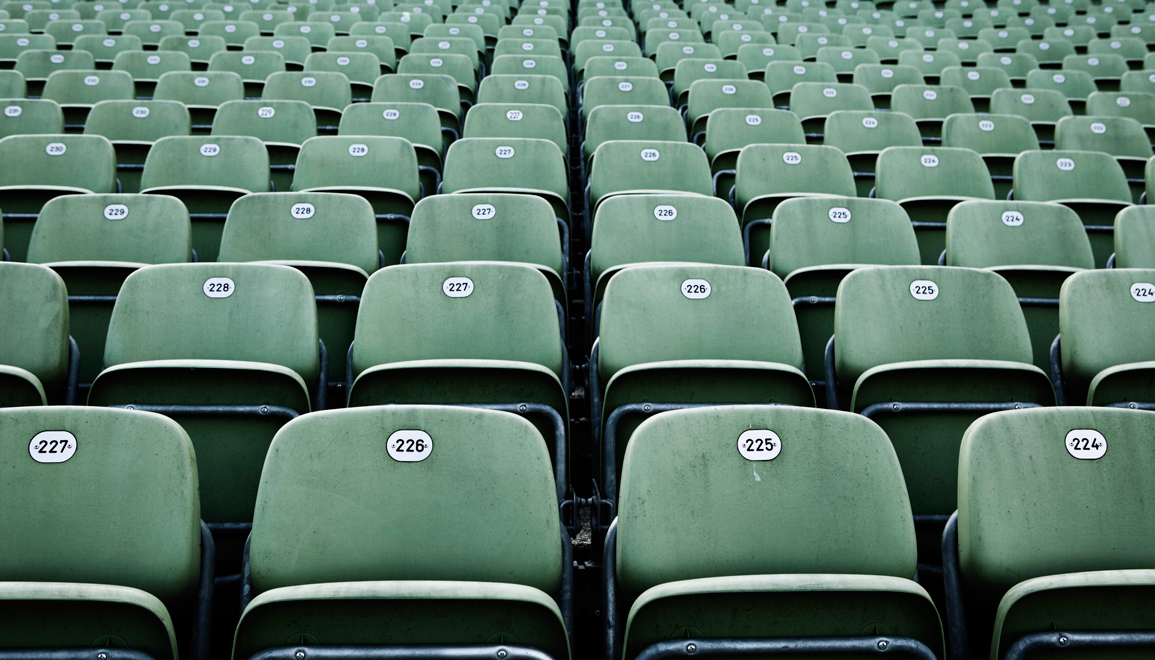 Sitze_Stadion_gruen - Stadionsitze