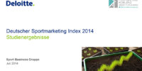 Deutscher Sportmarketing Index 2014