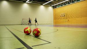 Ein Linoleum Sporthallenboden ist eine kostengünstige Variante, um seine Sporthalle mit einem Sportboden auszustatten