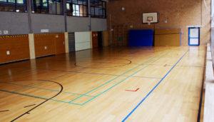 Sportparkett Sporthalle, Sporthallenboden Kosten, Sportboden Preis, Parkett Sporthalle