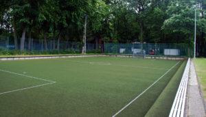 Soccer Court Kleinspielfeld mit Kunstraasen. DFB Soccer Court, Soccerground