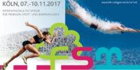 """Kongress """"Sicherheit bei Sportgroßveranstaltungen"""" im Rahmen der FSB Cologne"""