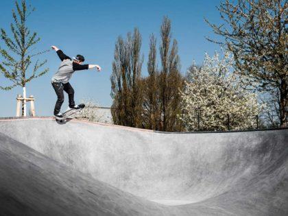 Es heißt Skatepark