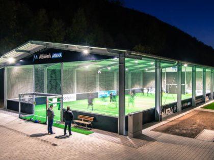 McArena Freiluft-Sporthalle: Multifunktional, allwetterfest und kosteneffizient