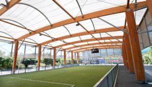 Sporthallenbau: Kosten für den Bau einer Sporthalle, Freilufthalle oder Traglufthalle. Kostenberechnung für den Sporthallenbau
