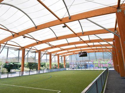 SMC2 stellt Konzept Freilufthalle auf Sportstättenmesse vor