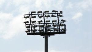 Flutlichtanlage für die Sportplatzbeleuchtung: LED-Flutlichtanlage-Sportplatz