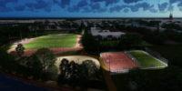 Urbane Sportflächen-Beleuchtung für das Sportzentrum Falkenwiese