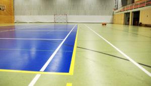 Sportbodenbelag für die Sporthalle: Sporthallenboden - Kosten Finanzierung und Sportstättenförderung im Rahmen der Sanierung der Sporthalle.
