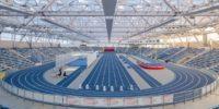 Eröffnung einer spektakulären Leichtathletikhalle
