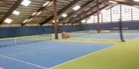 LED Tennishallenbeleuchtung für die Tennishalle Albersloh