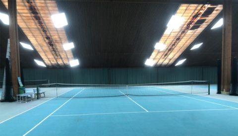 led tennishallenbeleuchtung für Hamburger Tennishalle: Kosten für die Beleuchtung von Tennishallen und Sporthallenbeleuchtung mit LED