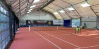 Neues Sportlichtsystem für Darmstädter Tennishalle