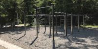 Smart geplante Outdoor-Fitnessanlage in Karlsruhe