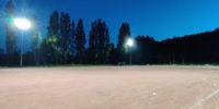 Neue Projekte: LED Flutlicht für Sportplatz und Tennishalle