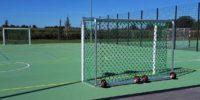 Mobile Tore für Sportanlagen