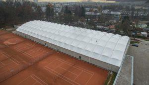 Tennishalle bauen: Kosten für den Bau einer Tennishalle inklusive LED Beleuchtung für die Tennishalle.